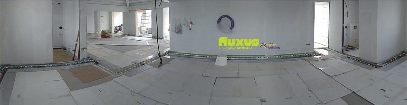 Fluxus, Panoramica Cantiere Fluxus